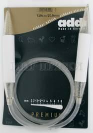 Спицы Addi круговые пластик