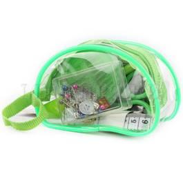 Набор дорожный в прозрачном пластиковом кошельке на молнии