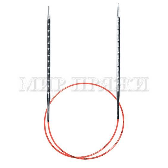 Спицы Addi круговые супергладкие c квадратным кончиком addiNovel