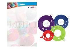 Набор форм для изготовления помпонов KnitPro