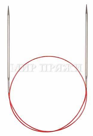 Спицы Addi круговые, никель, с удлиненным кончиком