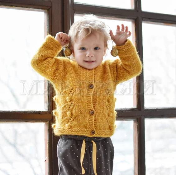 МК Детская кофта bubbleberry cardi