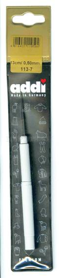Крючок Addi экстратонкий с ручкой