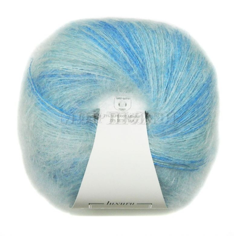 Silk Mohair Stampato